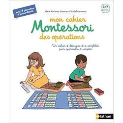 Mon cahier Montessori des...