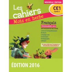 Français CE1 Les cahiers...