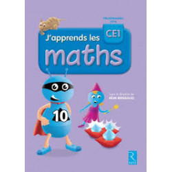 j'apprends  les maths CE1