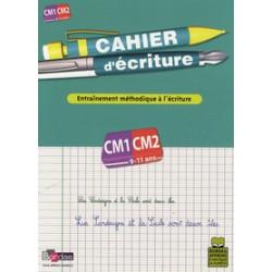 Cahier d'écriture CM1-CM2.