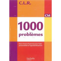 C.L.R 1000 problèmes CM