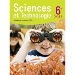 scinces et technologie  6e
