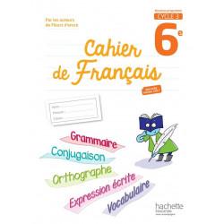 cahier de francais 6e
