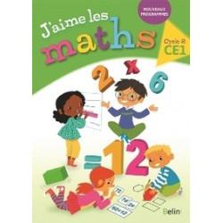 J'aime les Maths CE1, cycle 2.