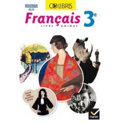 Colibris Français 3e livre...