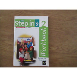 STEP IN Anglais 3eme  workbook