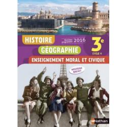 Histoire Géographie EMC 3e...