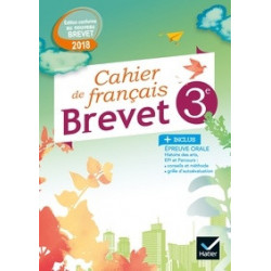 brevet Français 3e Cahier