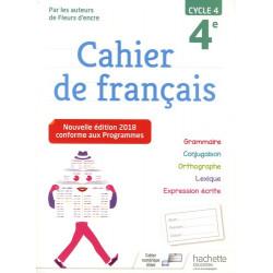 Cahier de français 4e cycle 4
