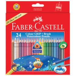 crayons aquarelles de 24 +...