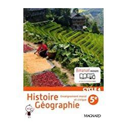 Histoire Géographie EMC 5e