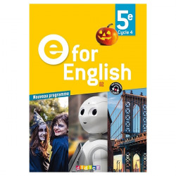 E for English 5e