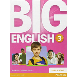 big english 3 puplis book