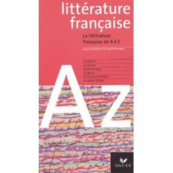 - La littérature française...