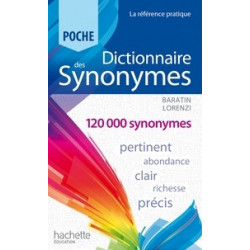 - Dictionnaire des synonymes.