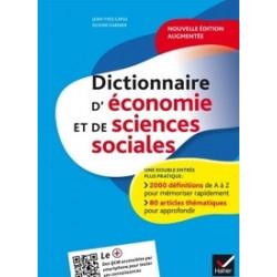 Dictionnaire d'économie et...