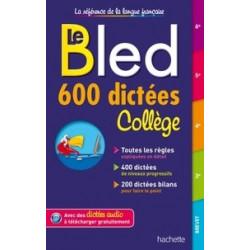 Le Bled 600 dictées collège.