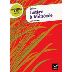 Epicure - Lettre à Ménécée...