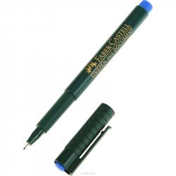 stylo feutre fin bleu faber...