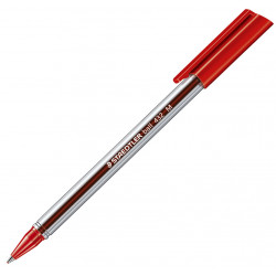 stylo rouge staedtler