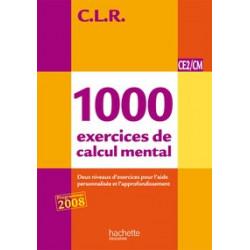 1000 exercices de calcul...