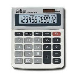 calculatrice deli 1217