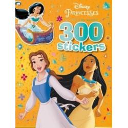 300 stickers Princesses...
