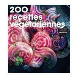 200 recettes végétariennes.