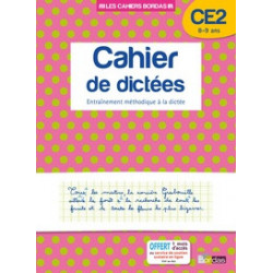 Cahier de dictées CE2 8-9...