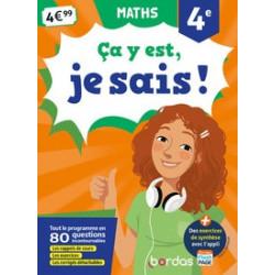 Maths 4e Ca y est, je sais...