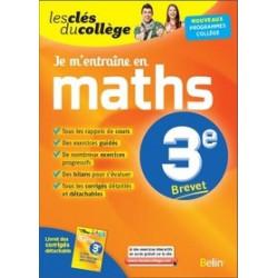 Je m'entraîne en maths 3e