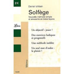 Solfège - Nouvelle méthode...