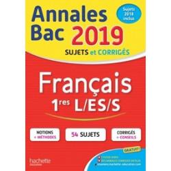 Annales BAC français 1res...