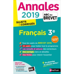 Annales ABC du Brevet 2019...