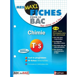 Mes MAXI Fiches Chimie Term S