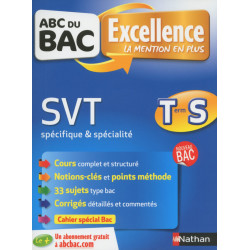 ABC du BAC Excellence SVT...