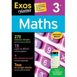 Exos résolus - Maths 3e