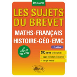 MathS, Français, His-Géo,...
