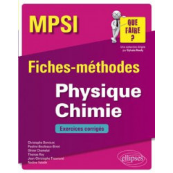 Physique Chimie MPSI -...