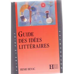 Guide des idées littéraires