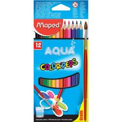 crayon de couleur aquarelle...