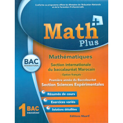 MATH plus 1 bac sc .ex ....
