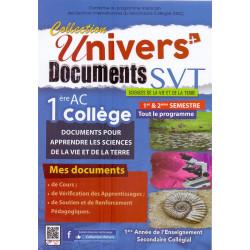 Univers documents svt 1 AC