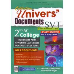 Univers documents svt 2 AC