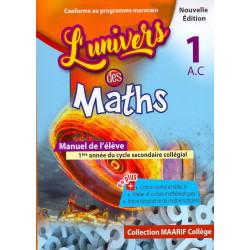 L'univers des maths 1ére A.C