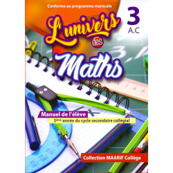 L'univers des maths 3 A.C