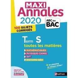 Maxi Annales BAC Tle S -...