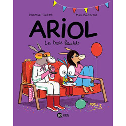 Ariol, Tome 08 : Les trois...