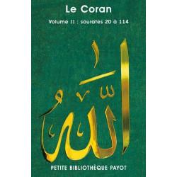 Le Coran, volume 2 :...