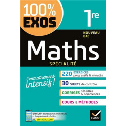 100% exos  maths 1ère...